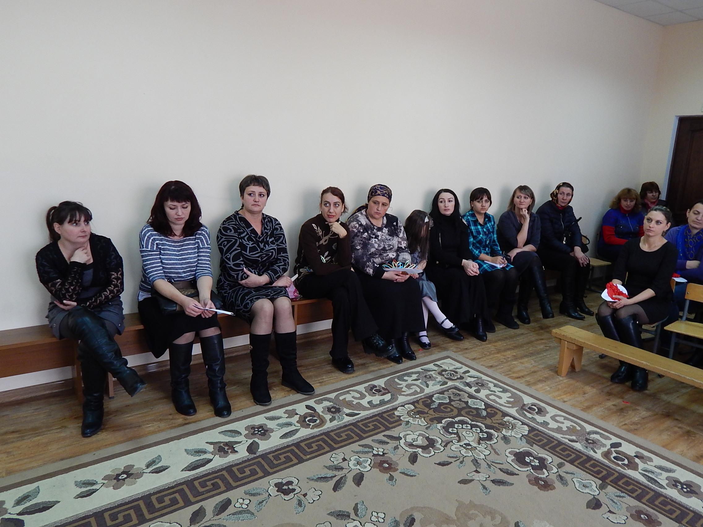 25 ноября в школе состоялось родительское собрание.